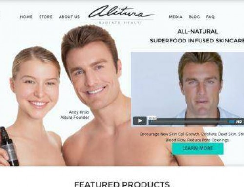 Alitura – homepage