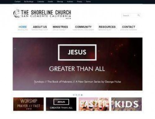 The Shoreline Church – homepage