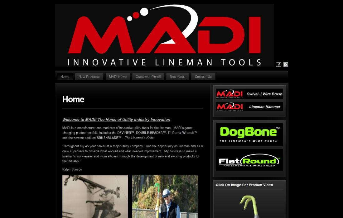 Madi LLC – homepage