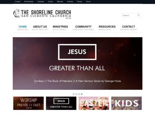 The Shoreline Church – homepage