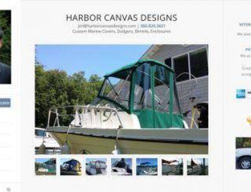 Harbor Canvas Designs – homepage